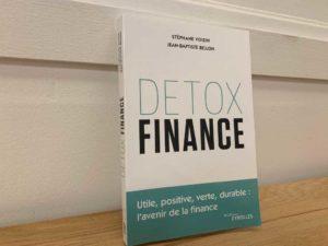 "Livre ""Detox Finance"" de Stéphane Voisin etp Jean-Baptiste Bellon."