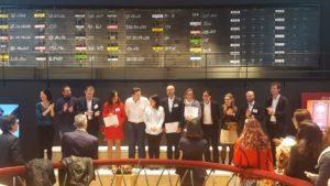 remise diplome CFTE au Palais Brongniart à Paris