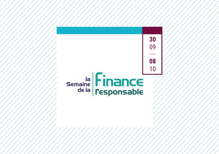 Finance Mag x Agenda_Semaine de la finance responsable 2021