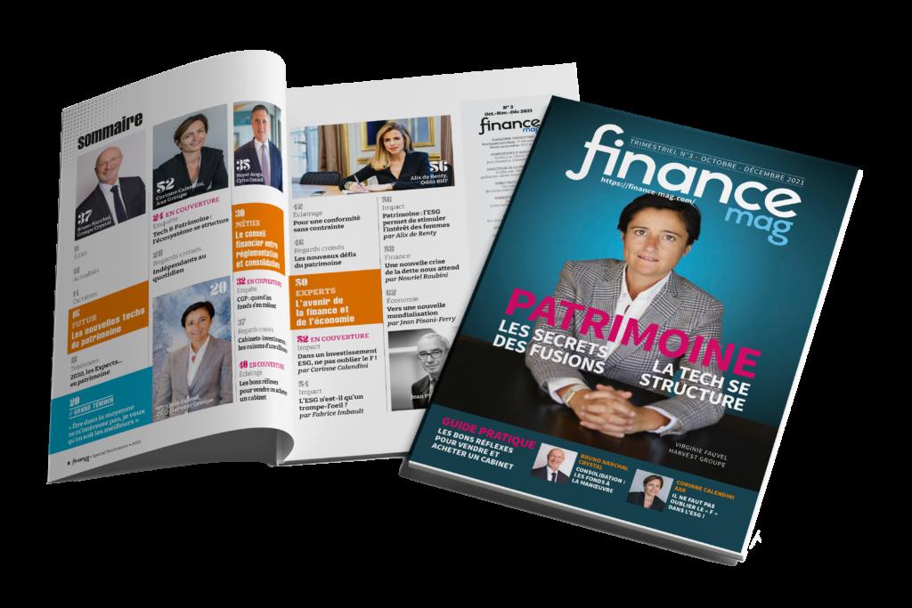 Magazine Finance Mag n°3 Spécial Patrimoine_Couv + Sommaire